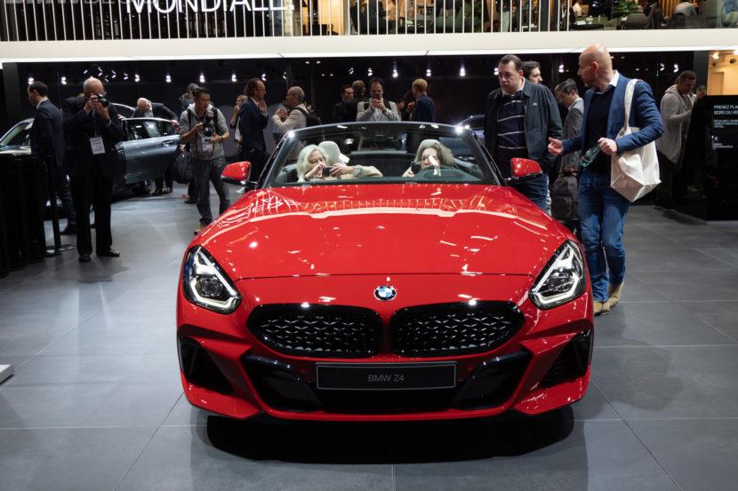 2019 BMW Z4 M40i Red 1 830x553