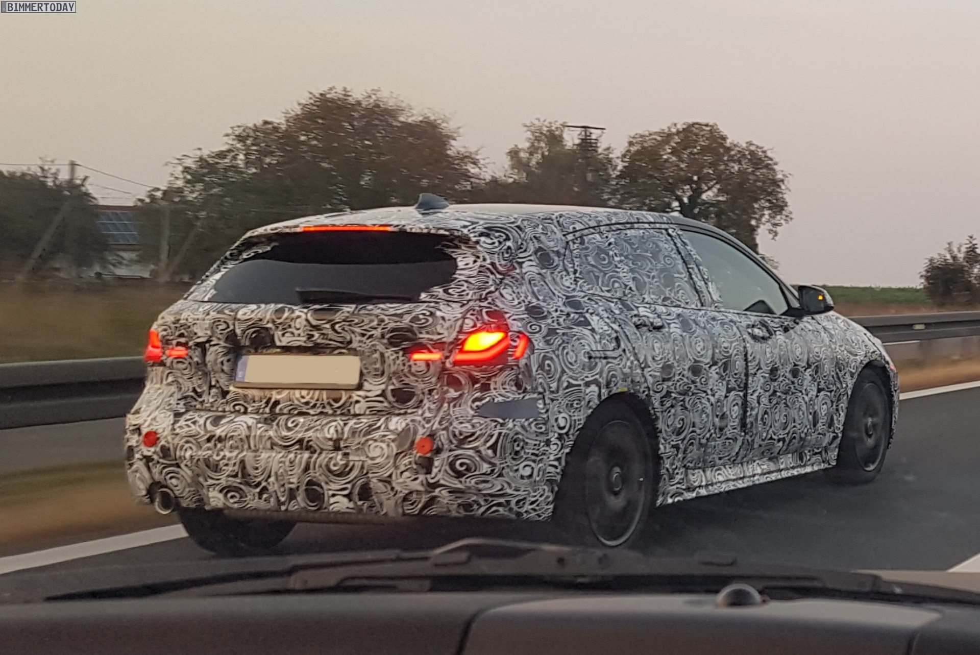 2019 bmw 1 series hatch spied