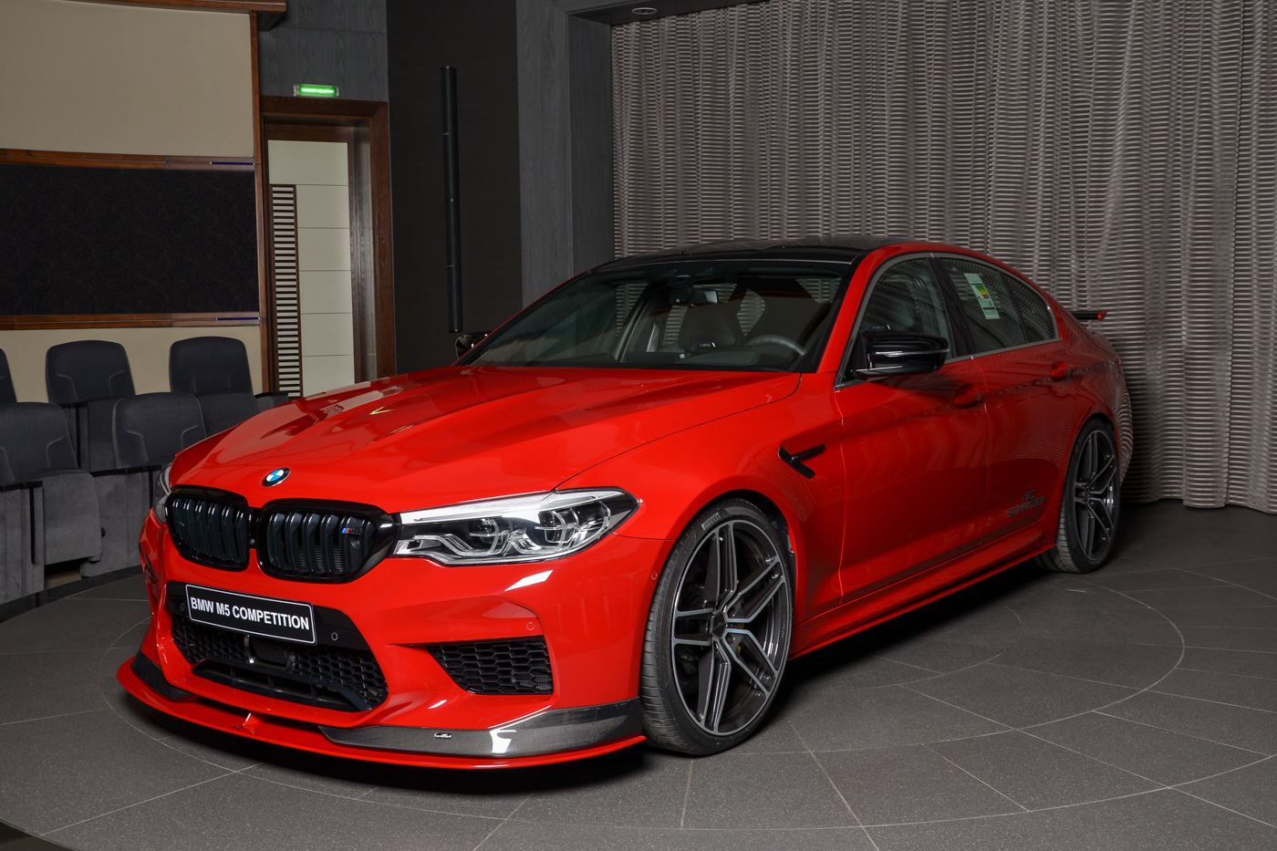 Photo Gallery Bmw M5 Competition Gets Ac Schnitzer Goodies