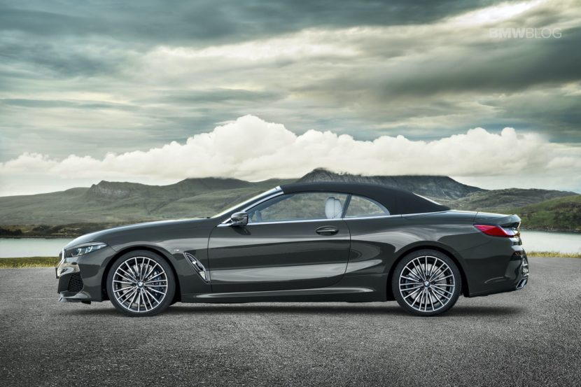 BMW 8 Series Convertible Loses Its Roof, Still Looks Lovely