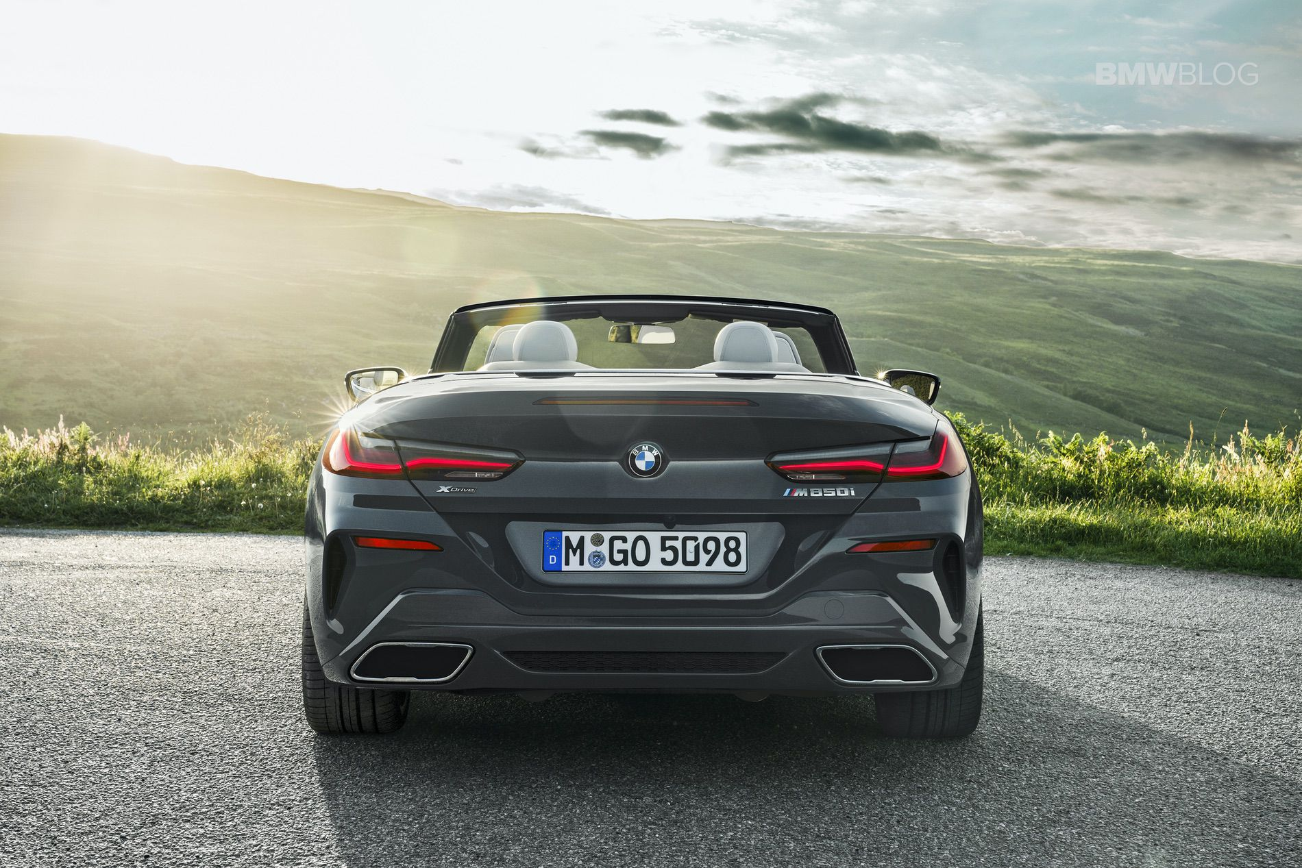 BMW 8 Series Convertible Stars in First Video