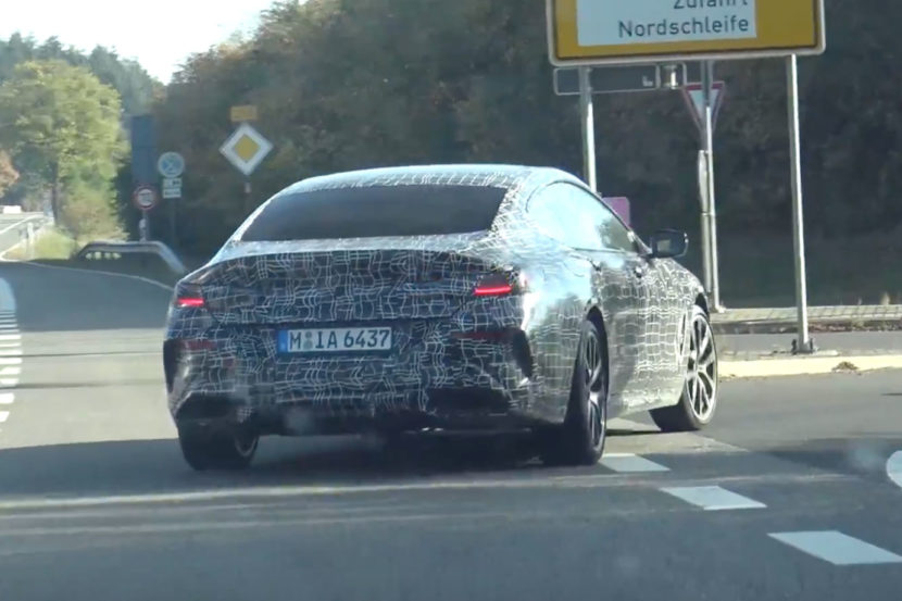 BMW 8 Series Gran Coupe spied 830x553