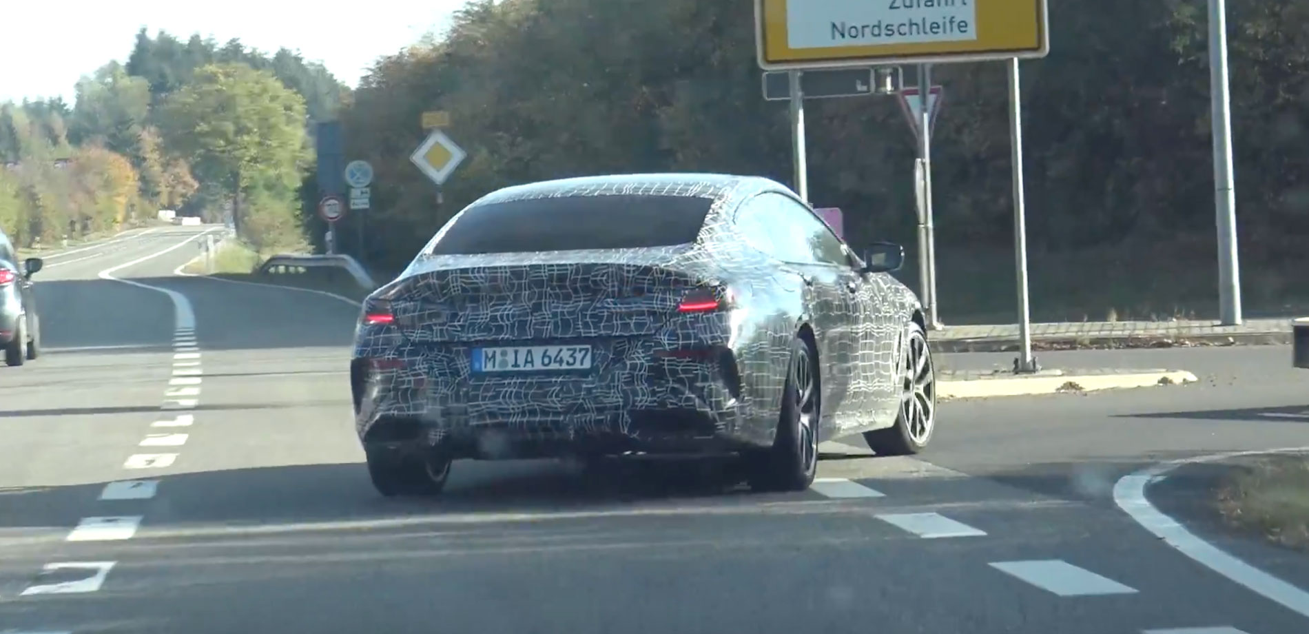 BMW 8 Series Gran Coupe spied