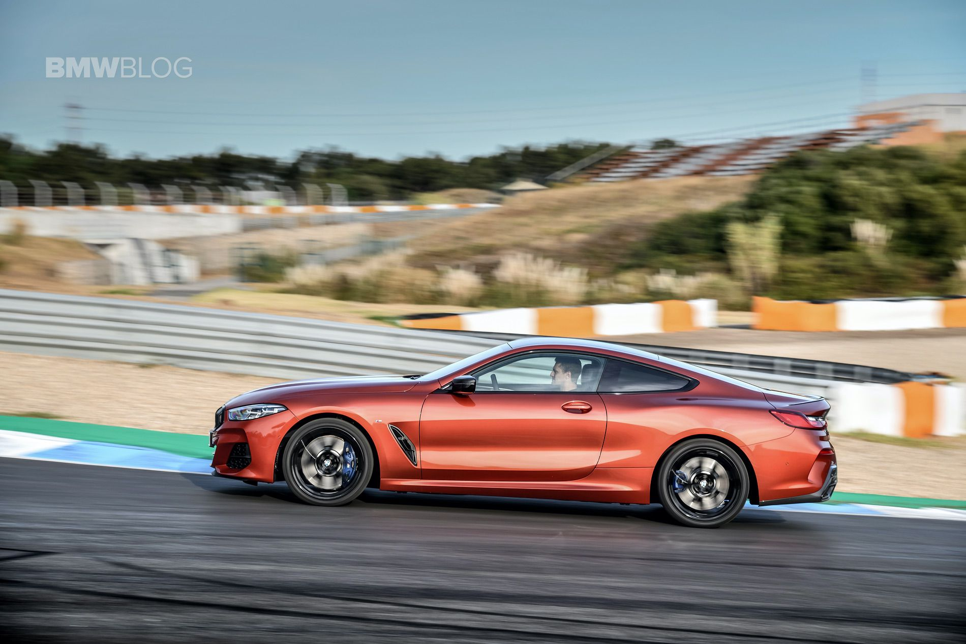 BMW M850i Coupe review drive 131