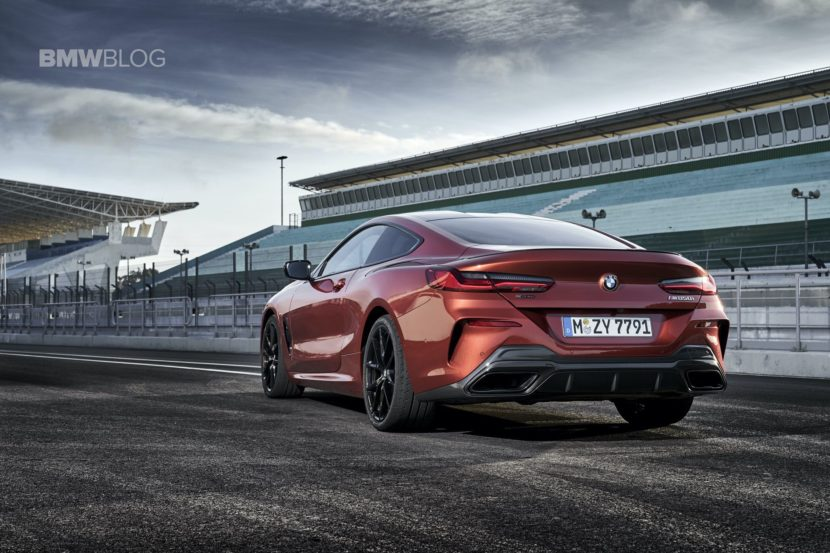 BMW Motorsport Driver Philipp Eng tracking the BMW M850i Coupe