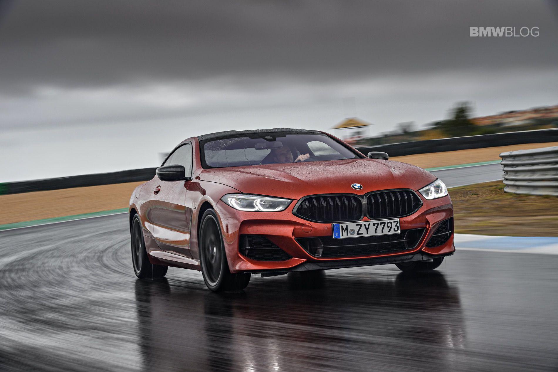 BMW M850i images track 02