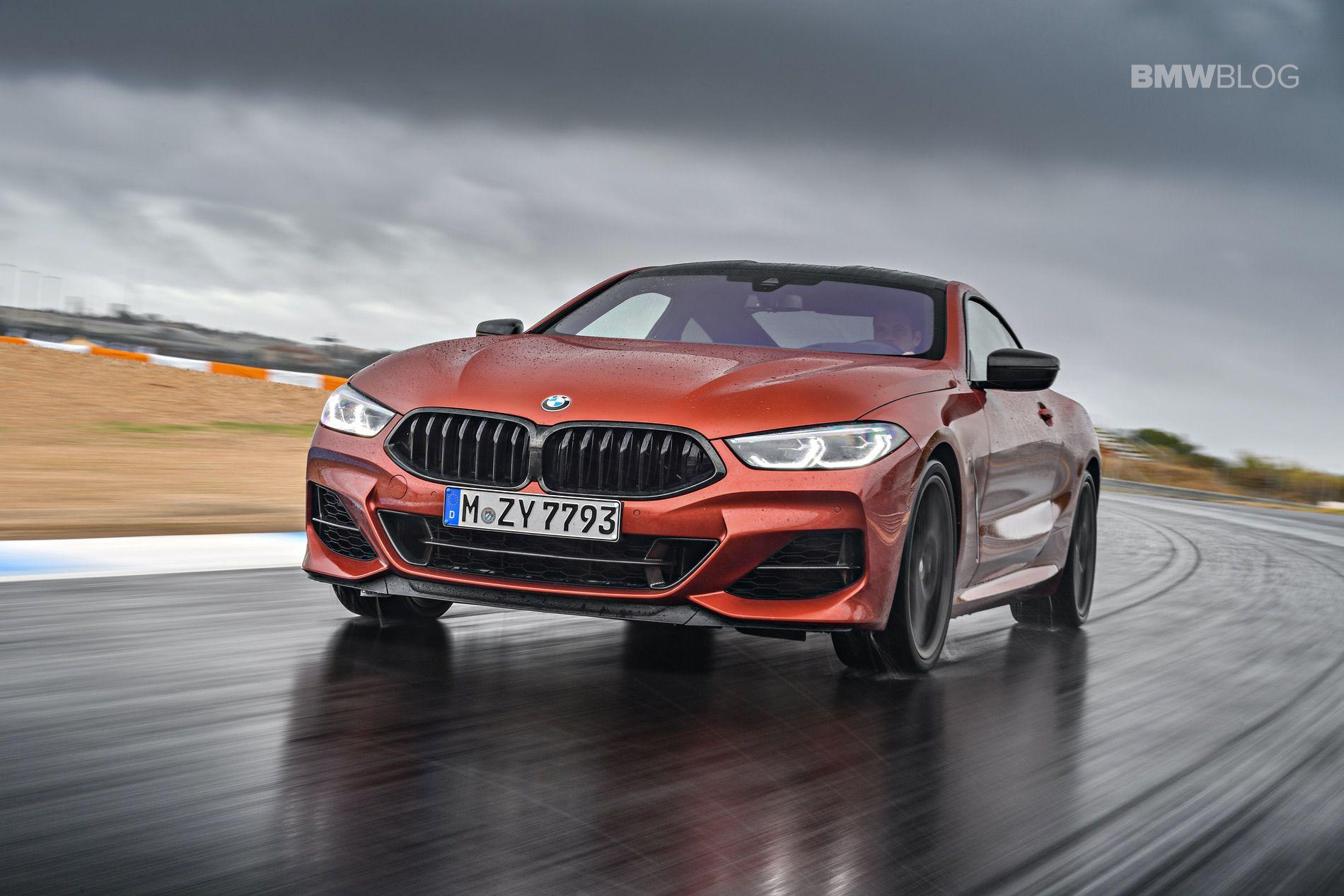 BMW M850i images track 12