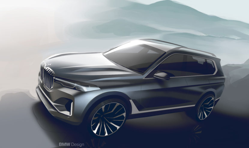 BMW X7 sketches 1 830x493