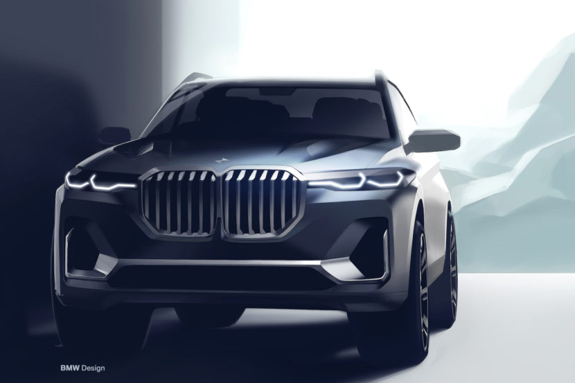 BMW X7 sketches 3 830x553