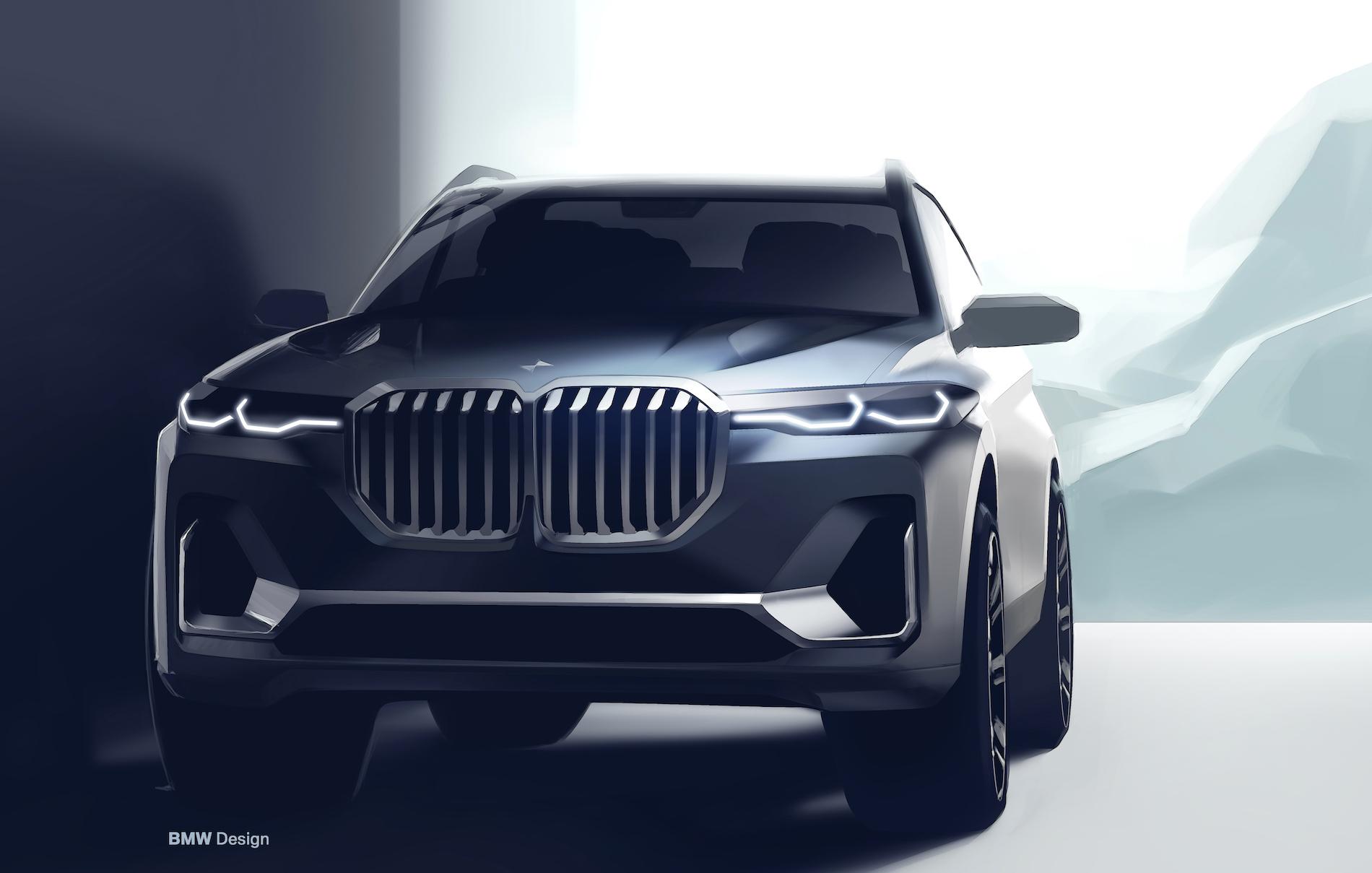 BMW X7 sketches 3