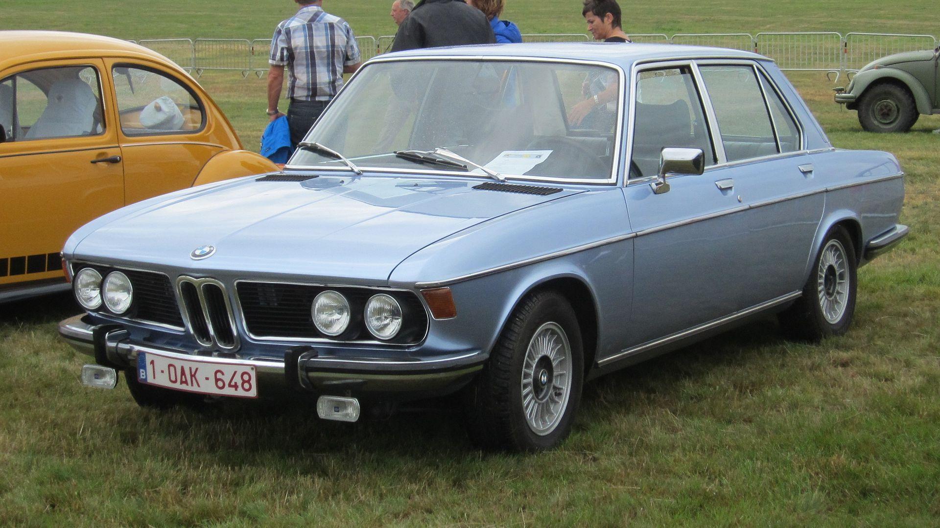 BMW 2800 at Schaffen Diest 2013
