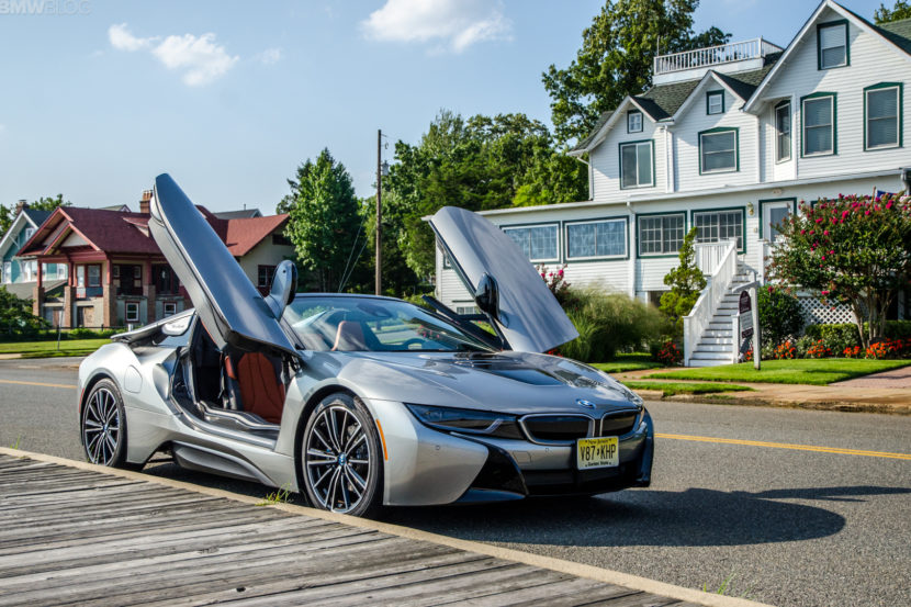 Test Drive Bmw I8 Roadster Pulling Back The Curtain On The Future