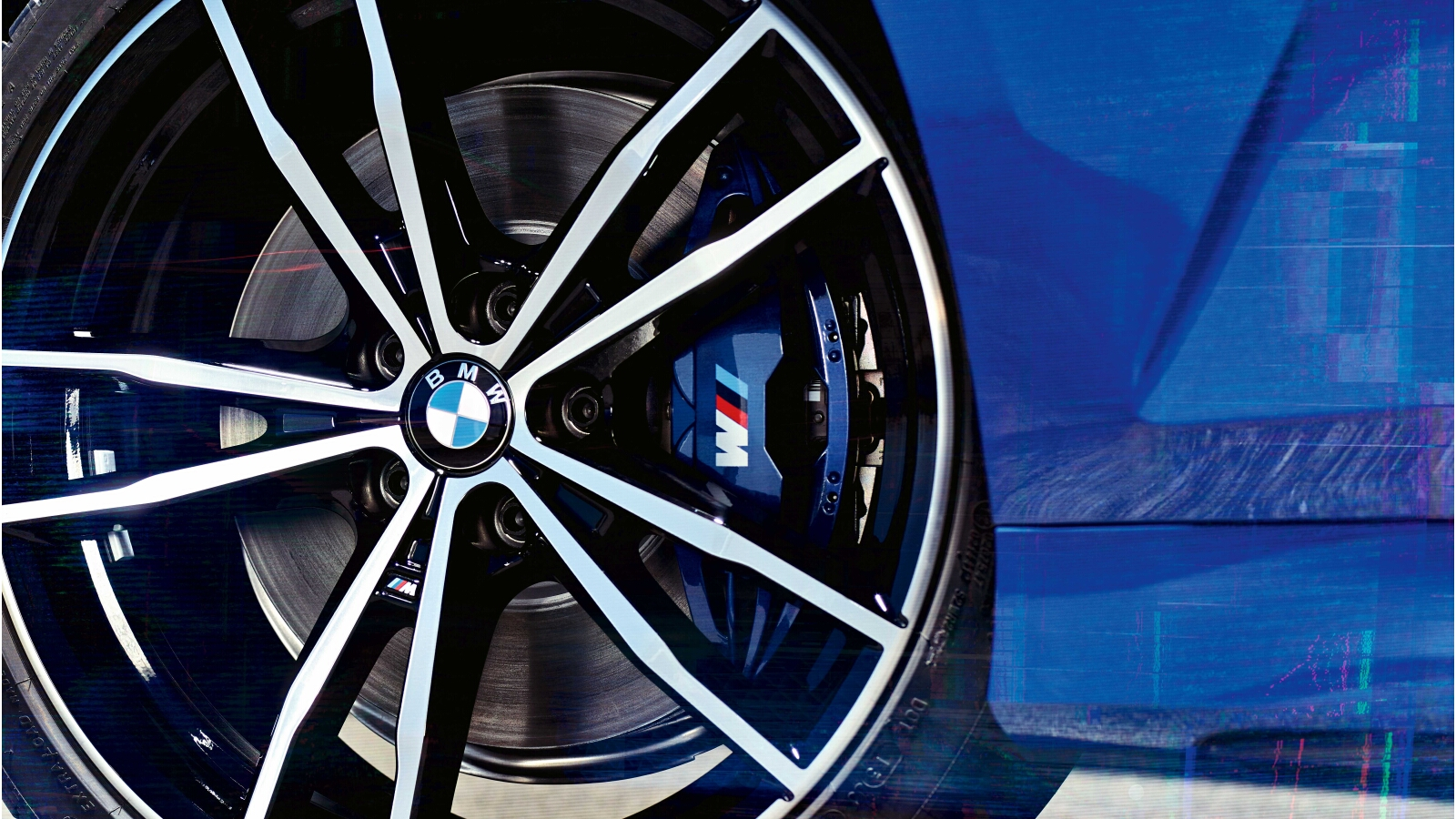 Self Righting Wheel Center Caps One Cool Feature Of The New Bmw 3 Series