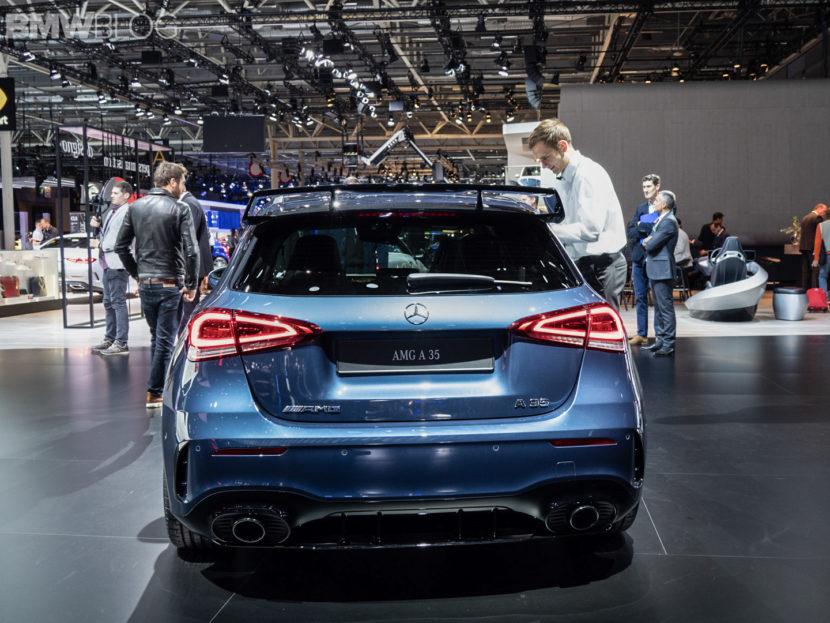 Paris Motor Show Mercedes AMG A45 1 830x623