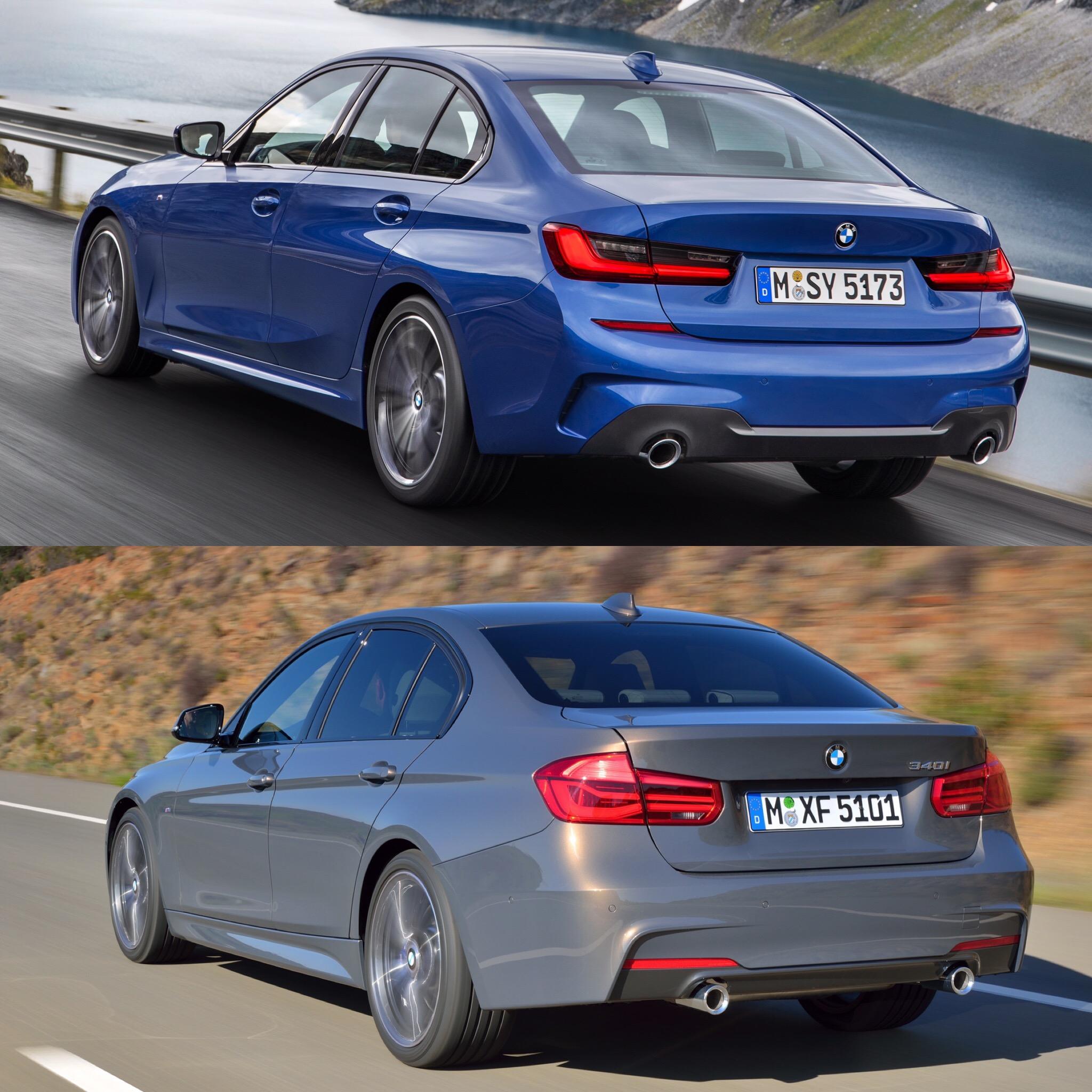 Bmw 335i M Sport: Photo Comparison: G20 BMW 3 Series M Sport Vs F30 3 Series