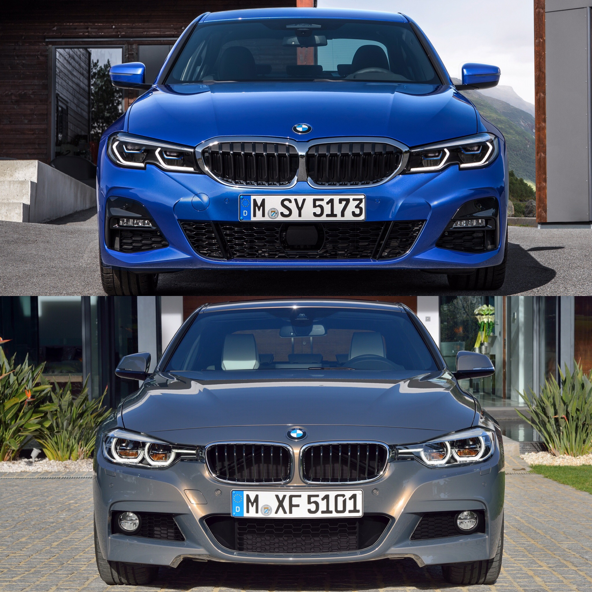 Bmw Sport: Photo Comparison: G20 BMW 3 Series M Sport Vs F30 3 Series