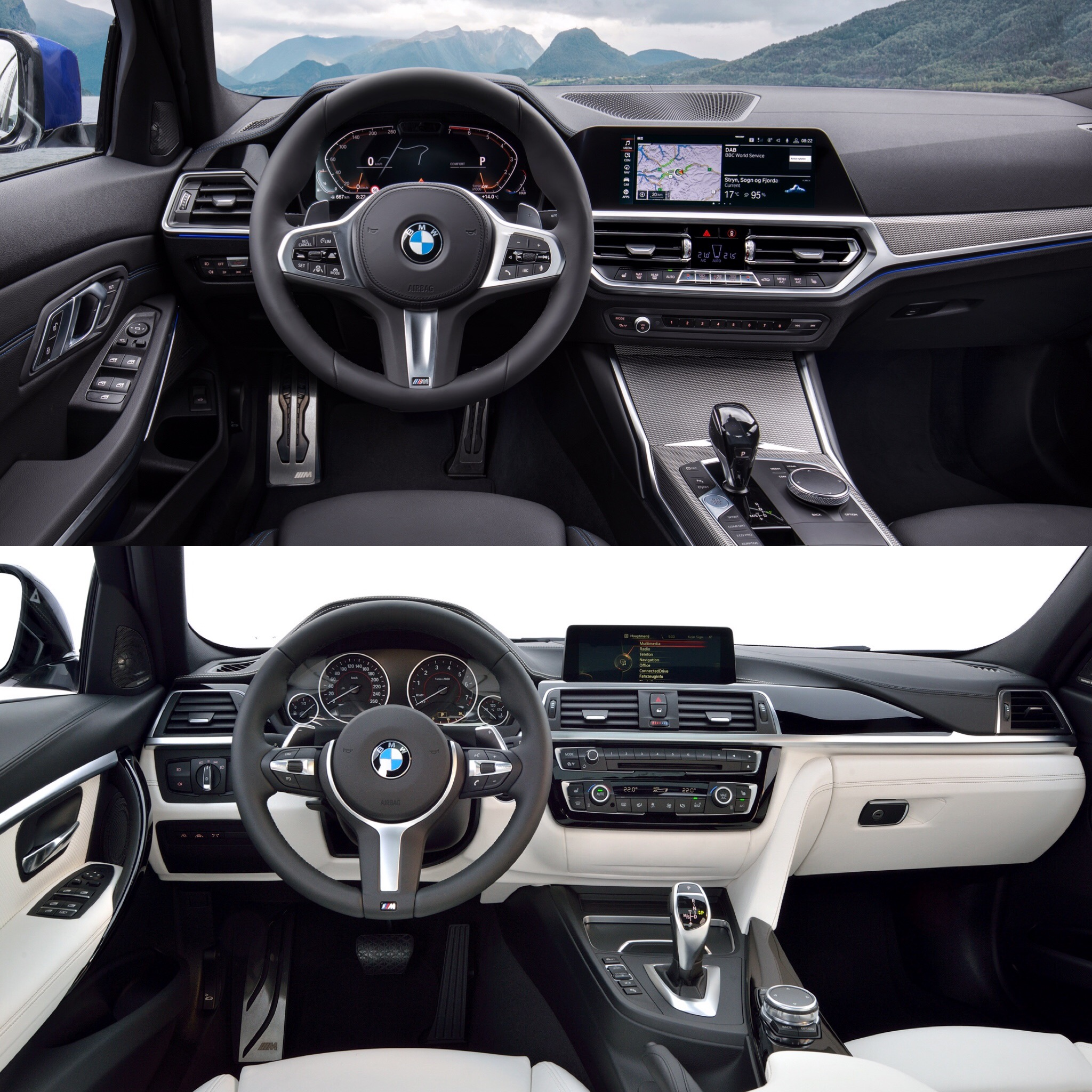 Photo Comparison G20 Bmw 3 Series M Sport Vs F30 3 Series M Sport