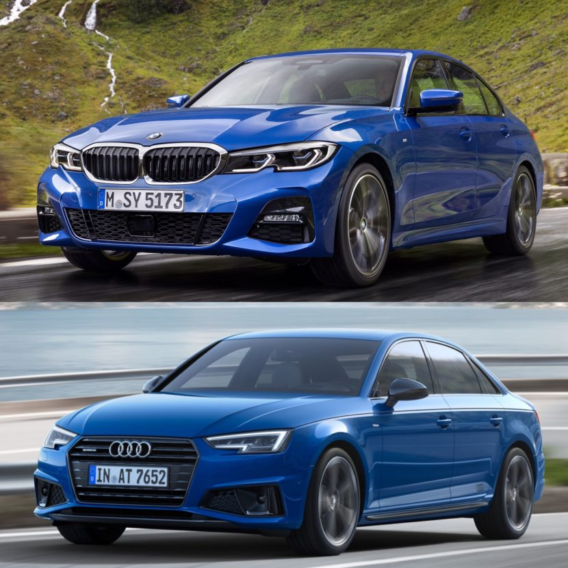 Photo Comparison: G20 BMW 3 Series Vs Facelifted Audi A4