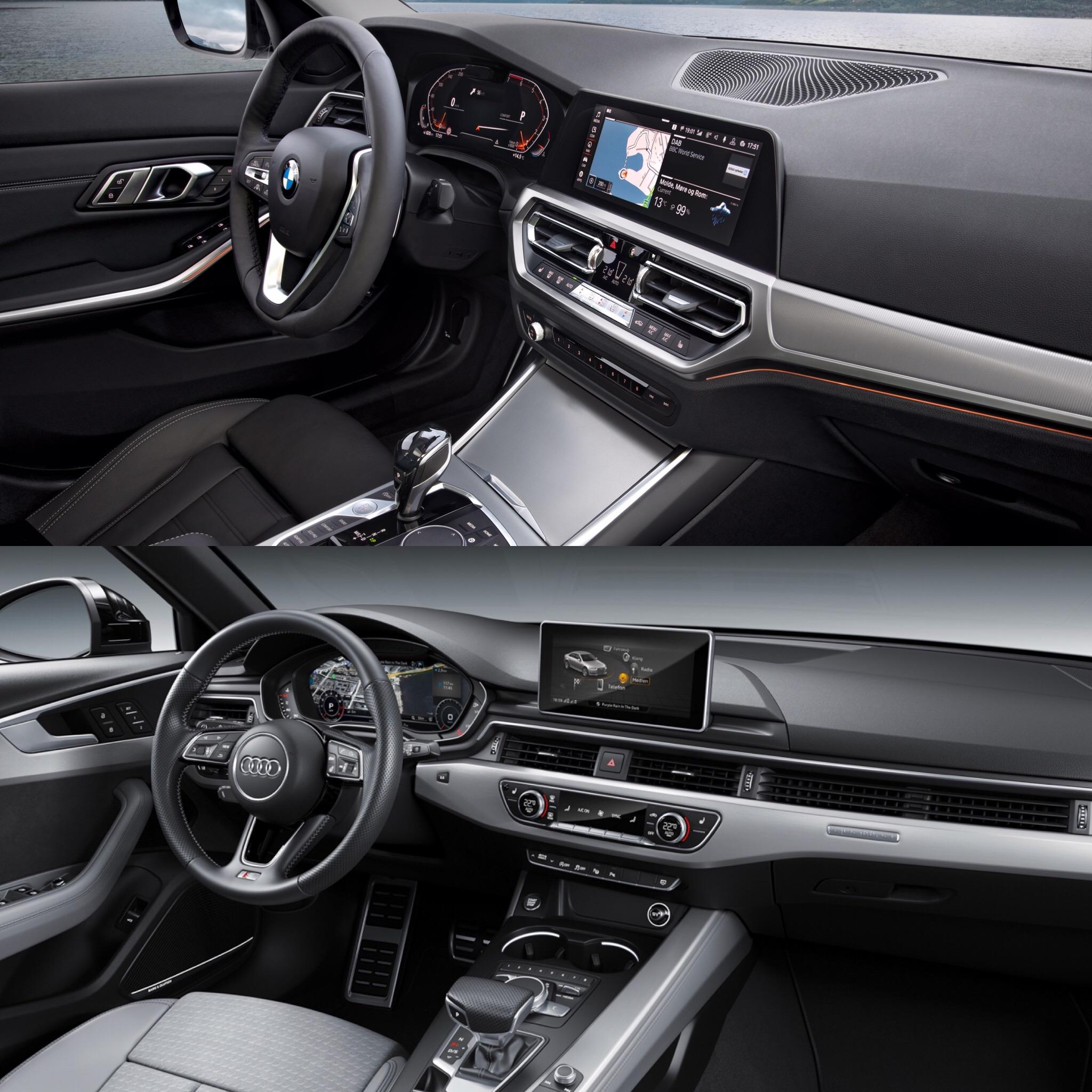 Photo Comparison G20 Bmw 3 Series Vs Facelifted Audi A4