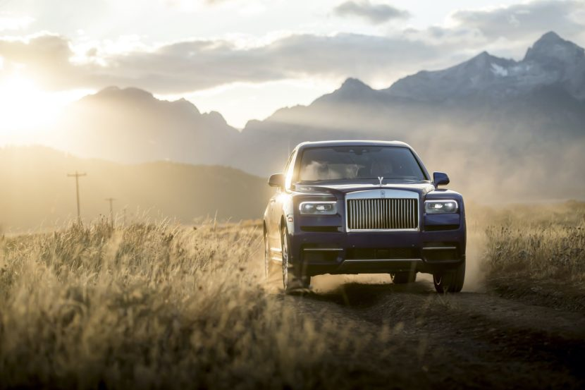 Rolls Royce Cullinan photos 18 830x553