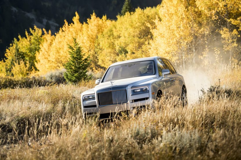 Rolls Royce Cullinan photos 21 830x553