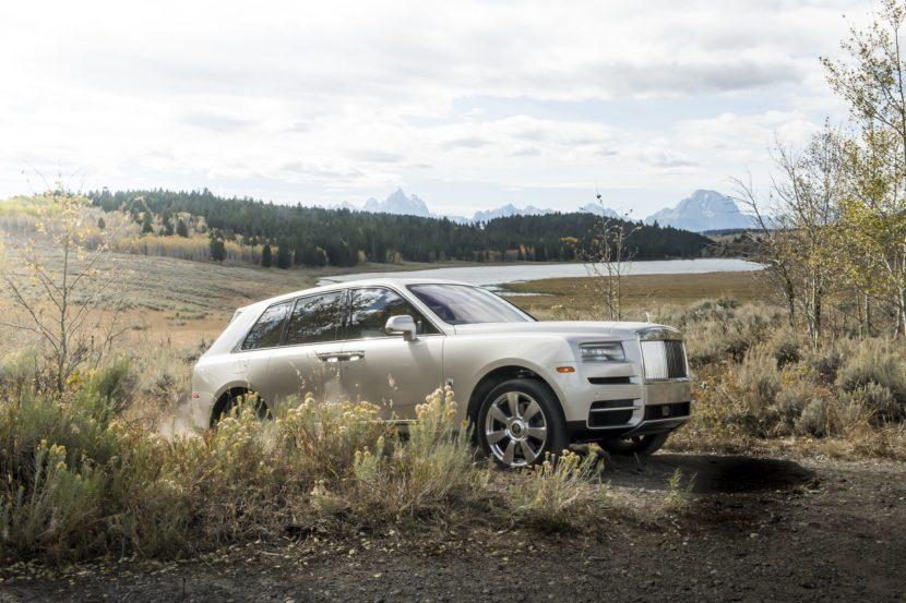 Rolls Royce Cullinan photos 73 830x553