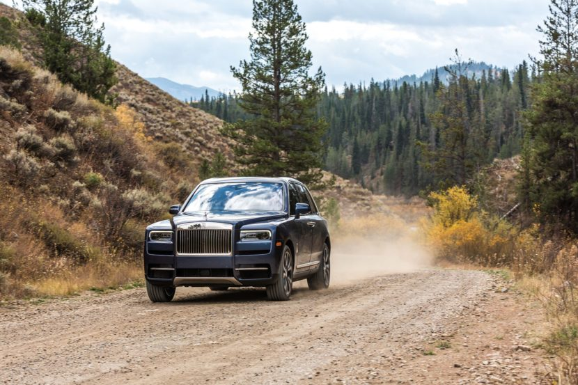 Rolls Royce Cullinan photos 80 830x553