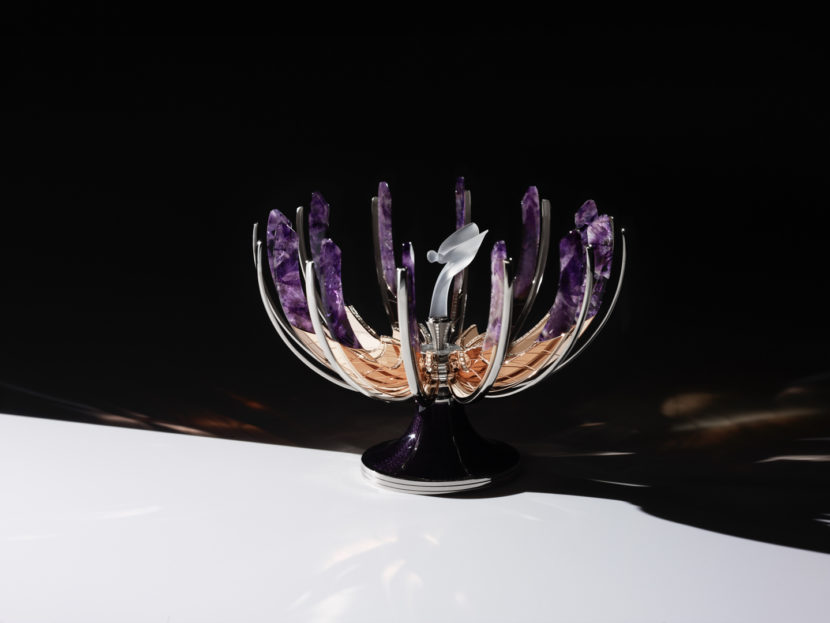Rolls Royce Spirit of Ecstasy Faberge Egg 2 830x623