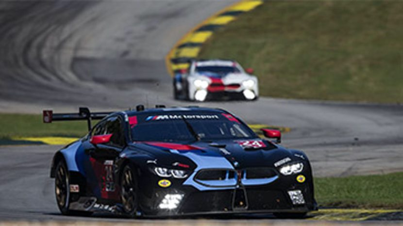 bmw m8 gte finishes 3rd and 4th at petit le mans. Black Bedroom Furniture Sets. Home Design Ideas