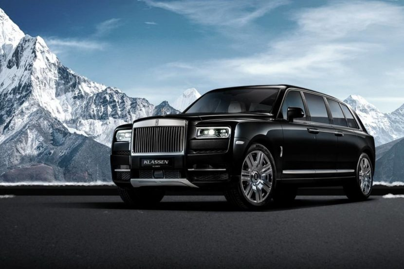 rolls royce cullinan stretched by klassen 830x553