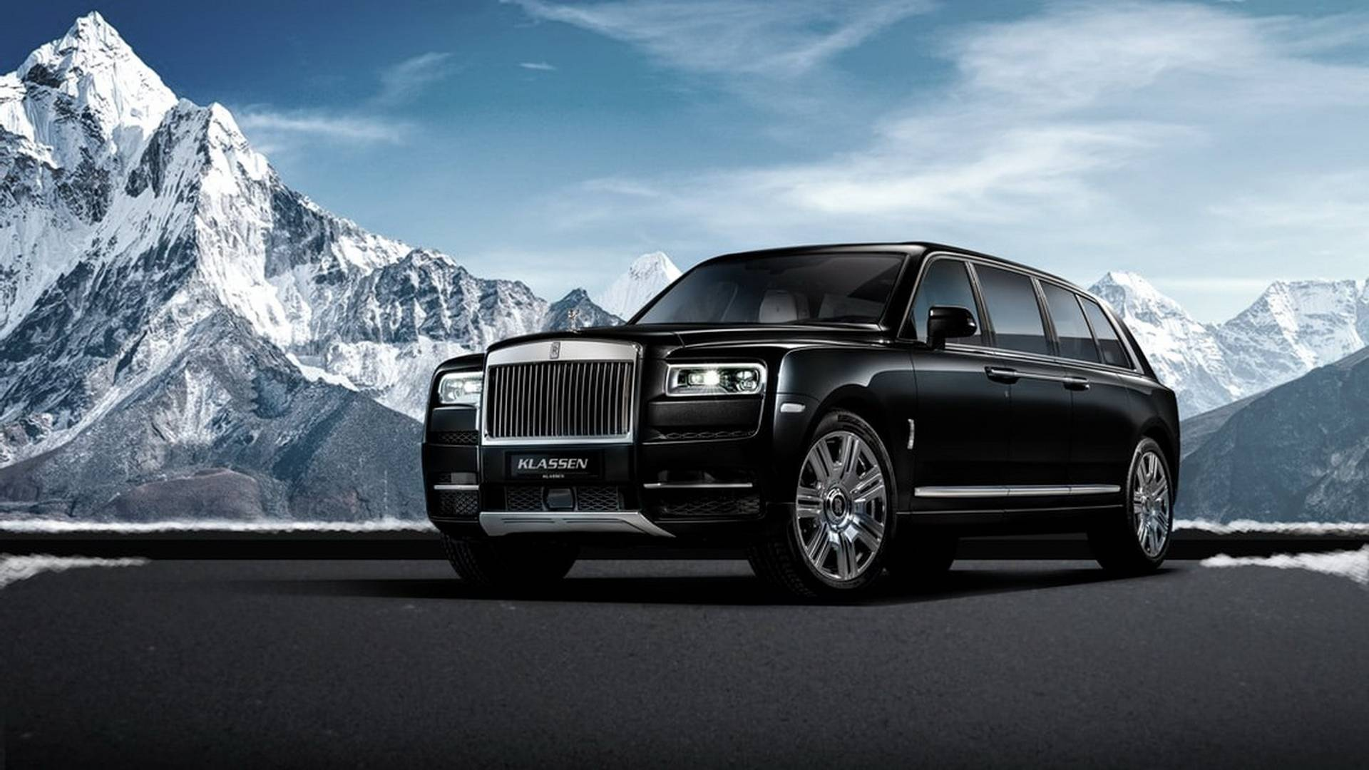 rolls royce cullinan stretched by klassen
