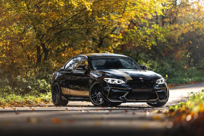 Bmw M2 Competition Gets 550 Hp To Play With From Manhart