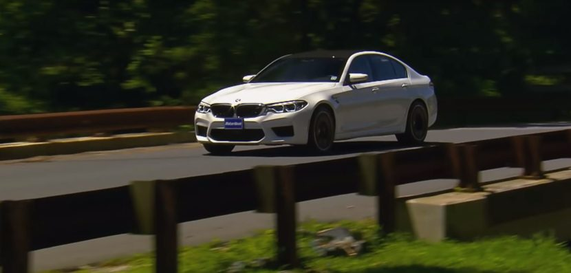 Video Motorweek Tests The New Bmw M5 On The Road And