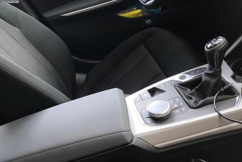 2019 BMW 3 Series G20 manual transmission 3 830x554