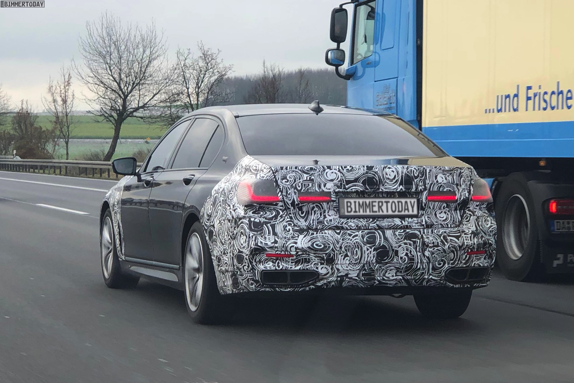 2019 Bmw 7 Series Facelift Spy Photos Show The Design Updates