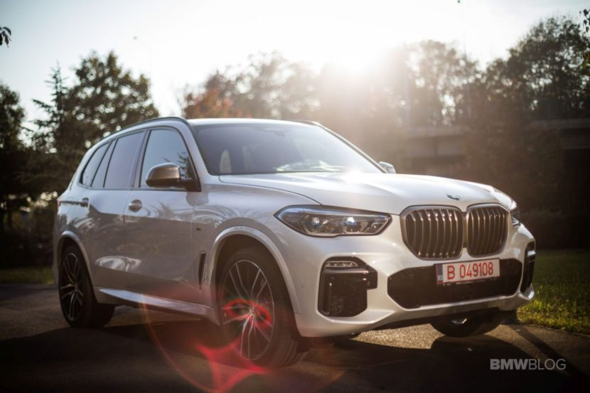 2019 BMW X5 test review 81 830x553