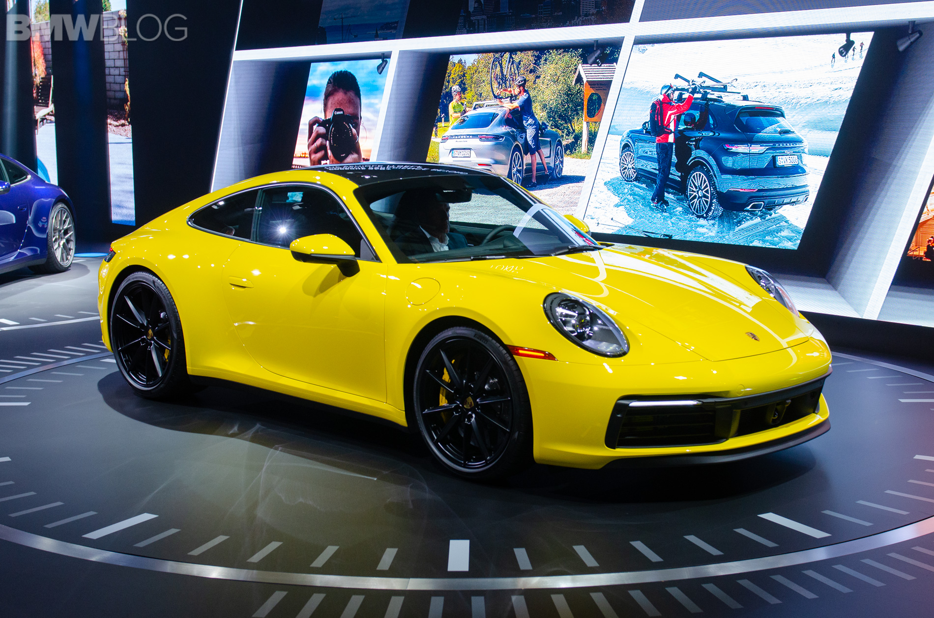 2018 la auto show 2019 porsche 911 992 generation live photos. Black Bedroom Furniture Sets. Home Design Ideas
