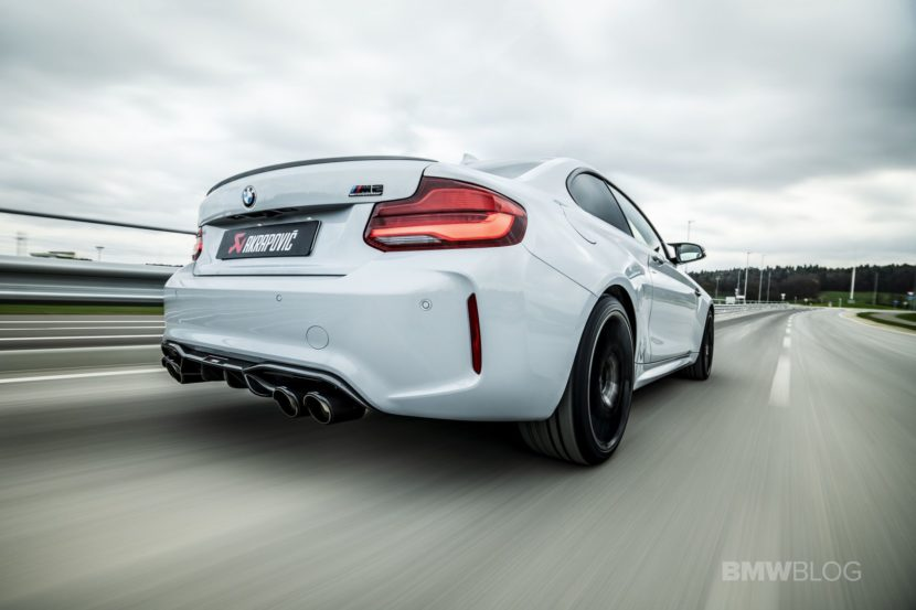 Akrapovic Slip On Titanium Exhaust for BMW M2 Competition 01 830x553