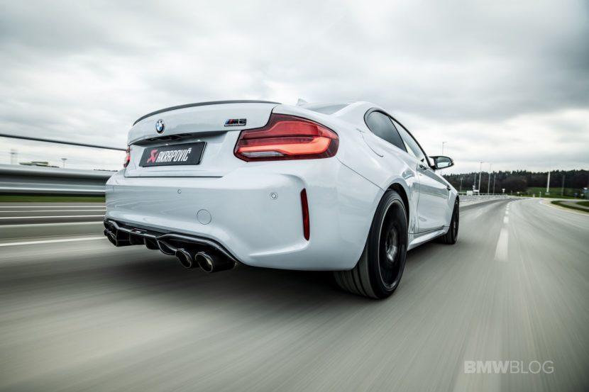 Akrapovic Slip On Titanium Exhaust for BMW M2 Competition 01 830x553