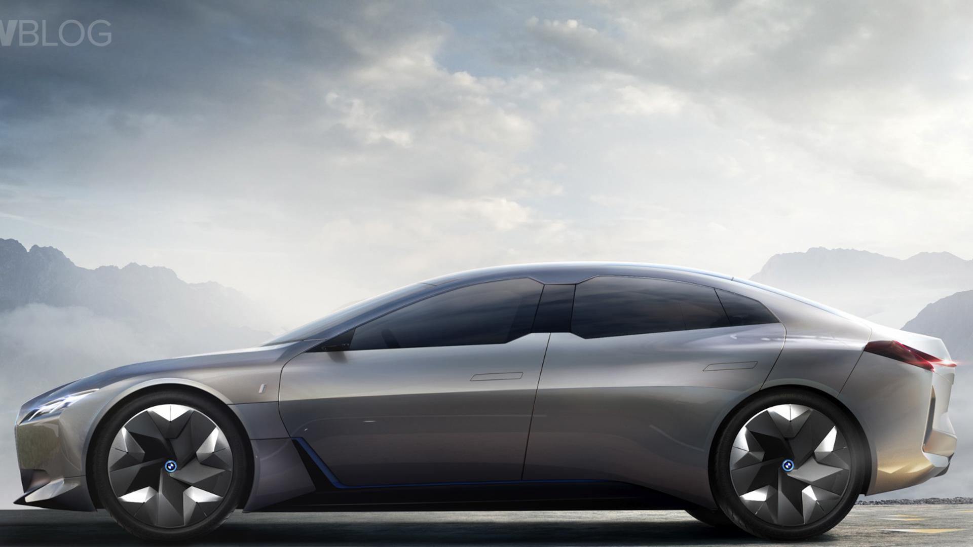 Audi e tron GT vs BMW i Vision Dynamics 11