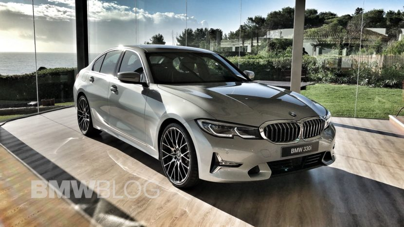 Video New 2019 G20 Bmw 3 Series In Glacier Silver Metallic Car