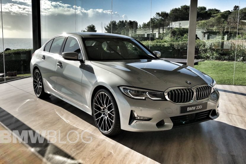 Video New 2019 G20 Bmw 3 Series In Glacier Silver Metallic