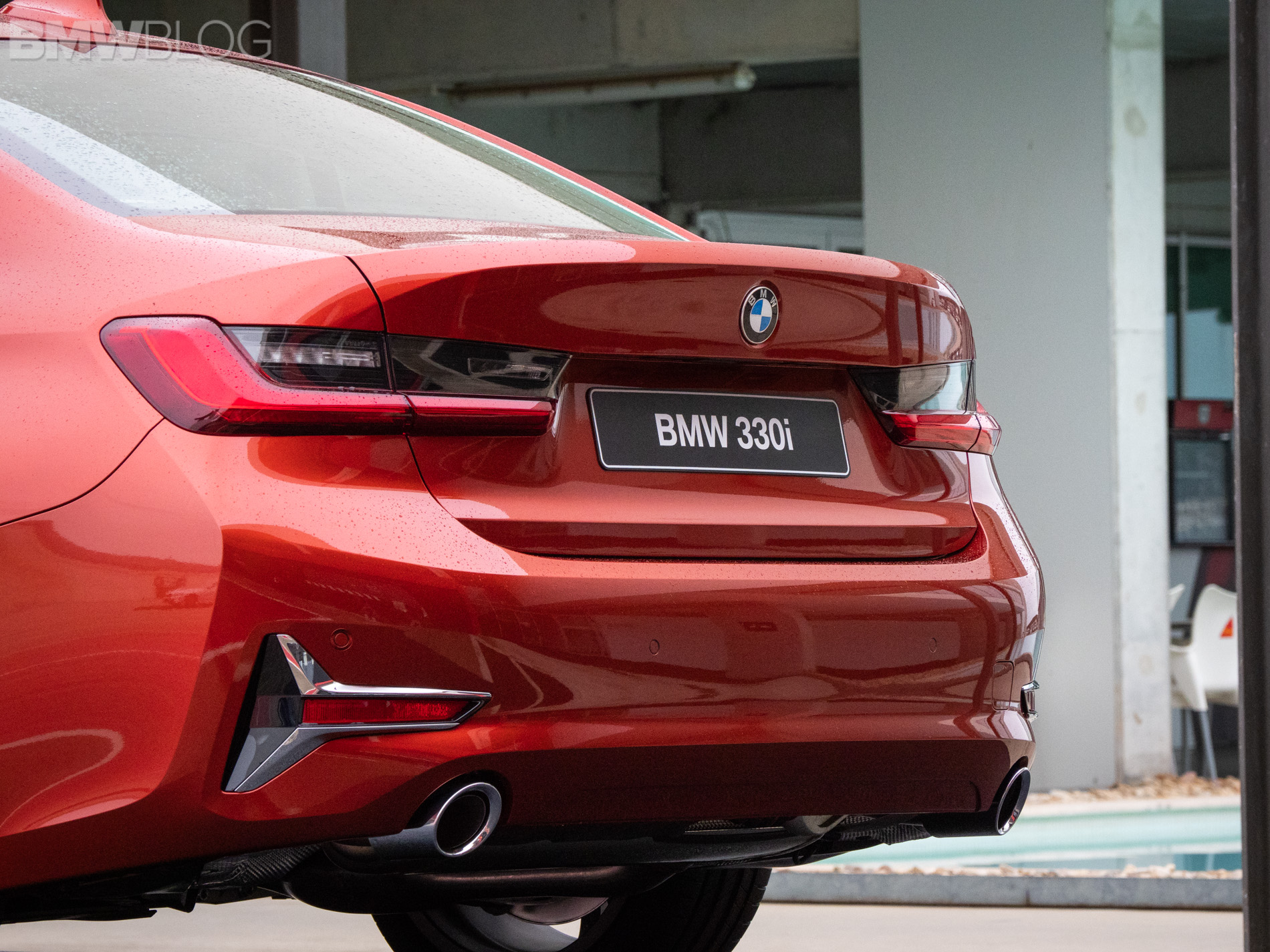 First Look At The New G20 Bmw 3 Series Luxury Line In Sunset Orange