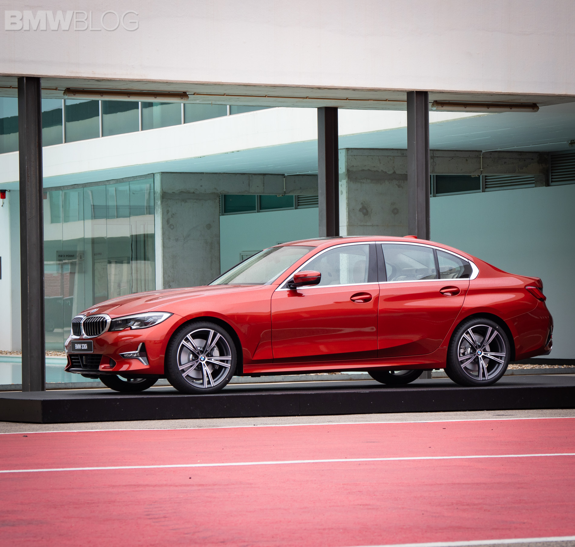 First Look At The New G20 Bmw 3 Series Luxury Line In
