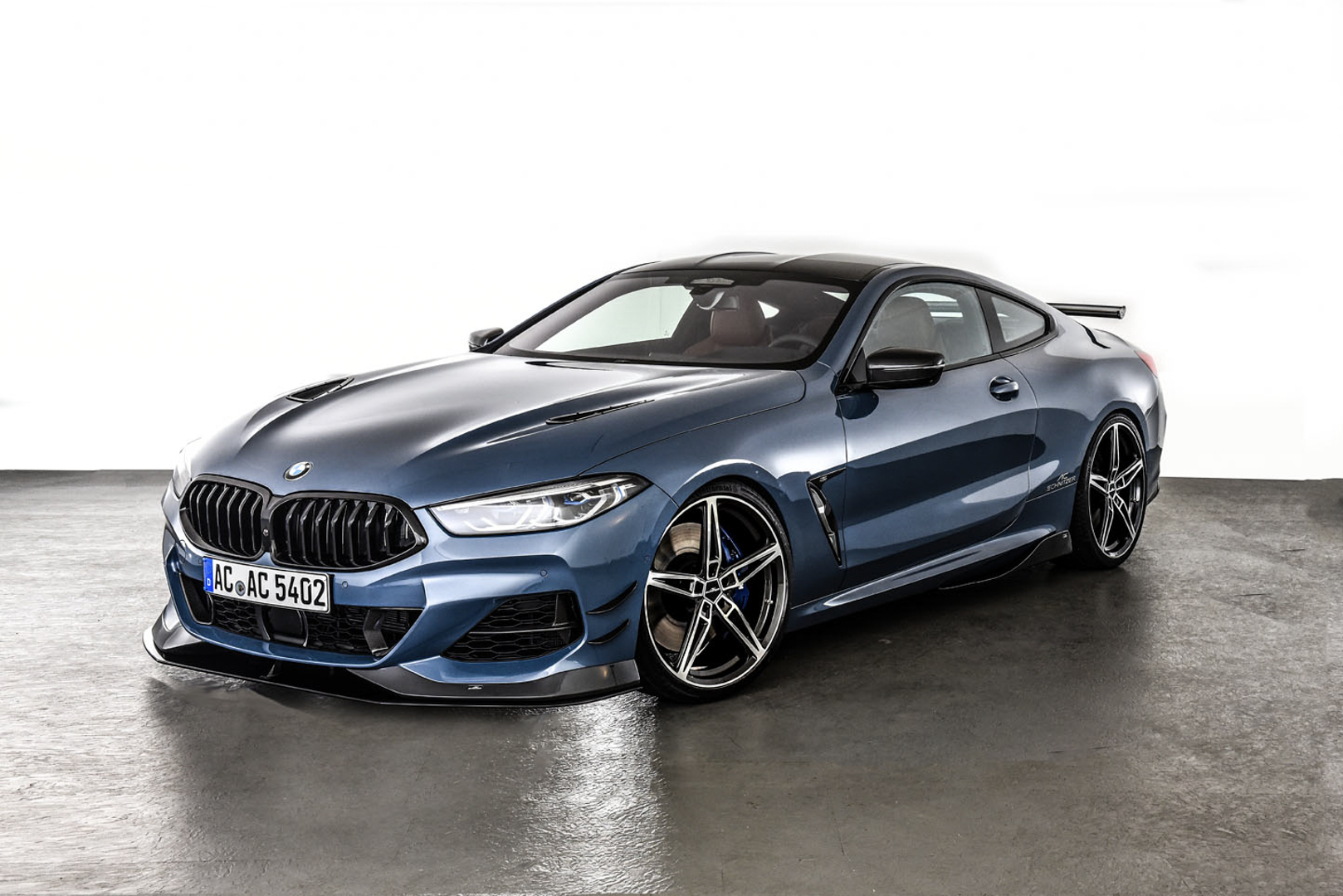 Evolve shows us the AC Schnitzer BMW M850i