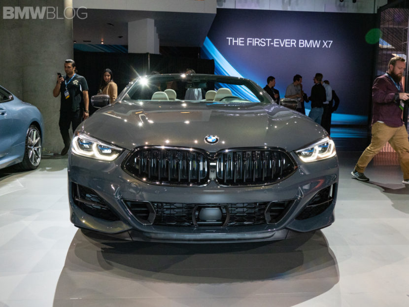 BMW 8 series convertible debut LA auto show 1 830x623