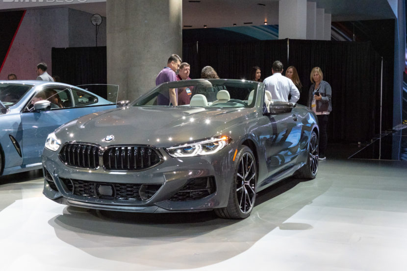 BMW 8 series convertible debut LA auto show 2 830x553