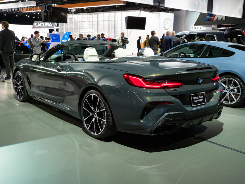 BMW 8 series convertible debut LA auto show 7 830x623