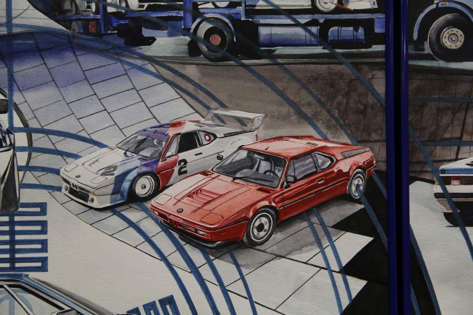 BMW Blue One Art Installation 12