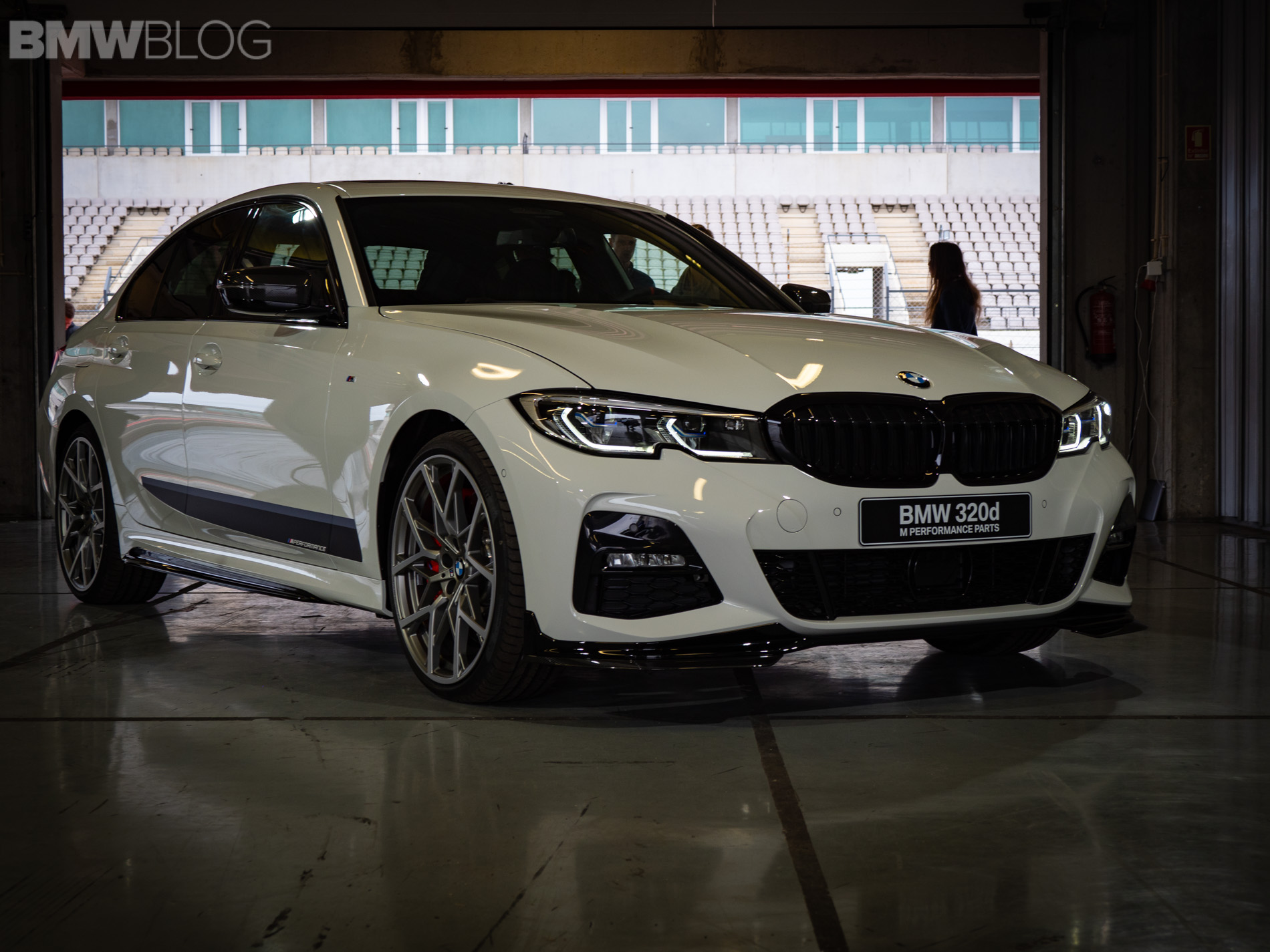 First Look At The New Bmw 3 Series With M Performance Parts
